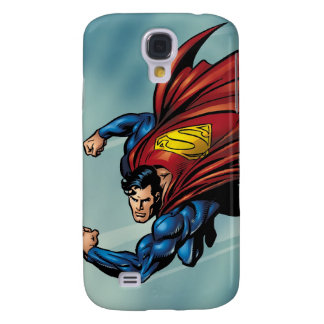 Superman flys with cape galaxy s4 case