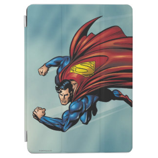 Superman flys with cape iPad air cover