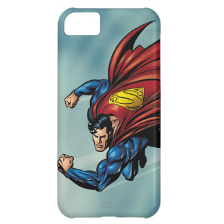 Superman flys with cape iPhone 5C case