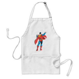 Superman From Behind Apron