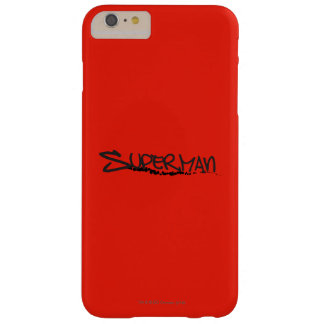 Superman | Graffiti Logo Barely There iPhone 6 Plus Case