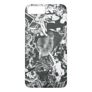 Superman Gray Collage iPhone 8 Plus/7 Plus Case