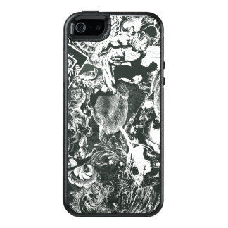 Superman Gray Collage OtterBox iPhone 5/5s/SE Case