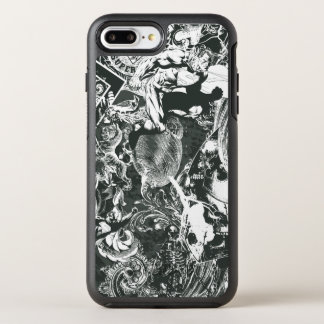 Superman Gray Collage OtterBox Symmetry iPhone 7 Plus Case