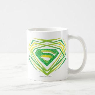 Superman Green Decorative Logo Mugs