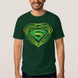 Superman Green Decorative Logo Shirt