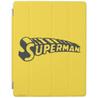 Superman | Grunge Letters Logo iPad Smart Cover