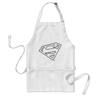 Superman Grunge Logo Aprons