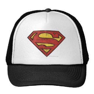 Superman Grunge Logo Hats