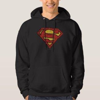 Superman Grunge Logo Hoodie