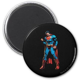 Superman  - Hand in fist 6 Cm Round Magnet