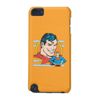 Superman Head Shot iPod Touch (5th Generation) Cases