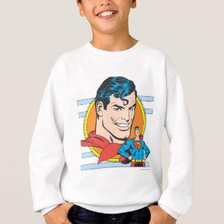 Superman Head Shot Sweatshirt