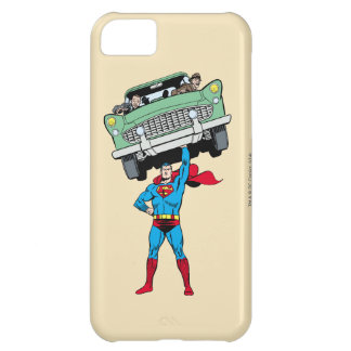 Superman holds a car iPhone 5C case