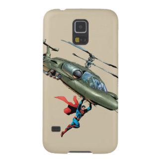 Superman holds helicopter case for galaxy s5
