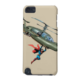 Superman holds helicopter iPod touch (5th generation) covers