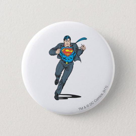 Superman in Business Garb 6 Cm Round Badge