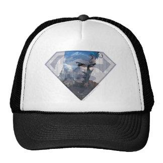 Superman in S-Shield Hats