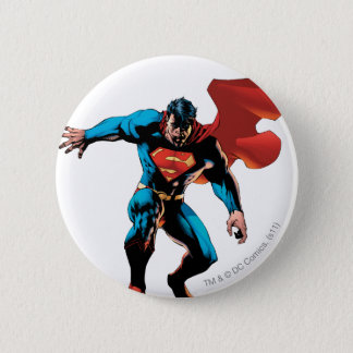 Superman in Shadow 6 Cm Round Badge