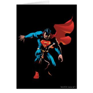 Superman in Shadow Card