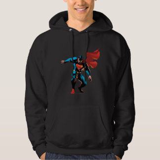 Superman in Shadow Hoodie