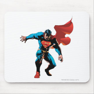 Superman in Shadow Mouse Mat