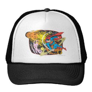 Superman in Space Trucker Hats