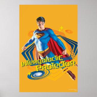 Superman Intergalactic Protector Poster