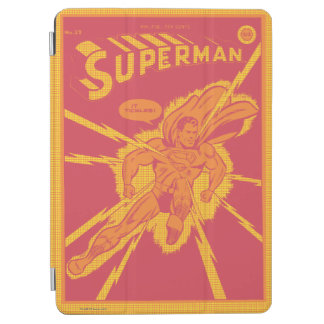 Superman is struck by lightening iPad air cover