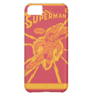 Superman is struck by lightening iPhone 5C case
