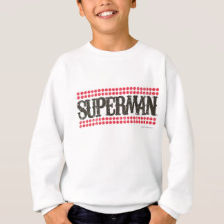 Superman | Its Showtime Letters Logo Sweatshirt