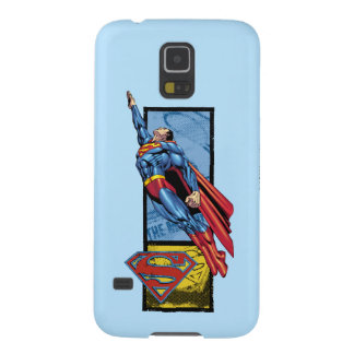 Superman jumps up with logo case for galaxy s5