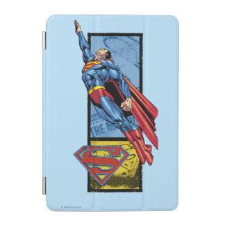 Superman jumps up with logo iPad mini cover