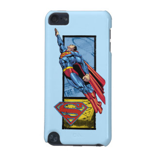 Superman jumps up with logo iPod touch 5G cover