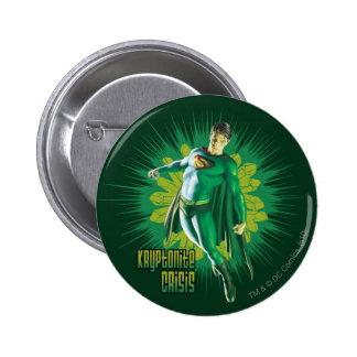 Superman Kryptonite Crisis 6 Cm Round Badge