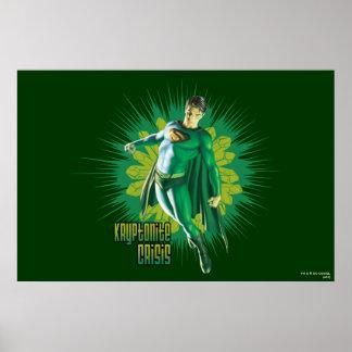 Superman Kryptonite Crisis Poster