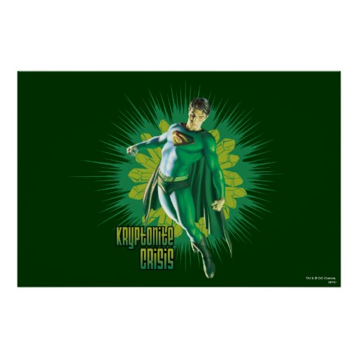 Superman Kryptonite Crisis Posters