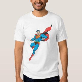 Superman Lands Lightly 2 T-shirts