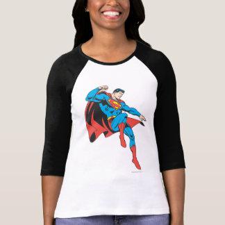 Superman Lands Lightly Tee Shirts