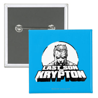 Superman Last Son of Krypton 15 Cm Square Badge