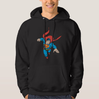 Superman Leaps Forward Hoodie