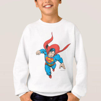 Superman Leaps Forward Sweatshirt
