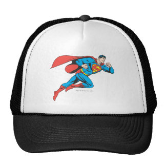 Superman Leaps Right Hats