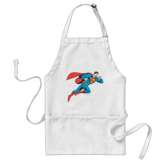 Superman Leaps Right Standard Apron