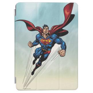 Superman leaps upward iPad air cover