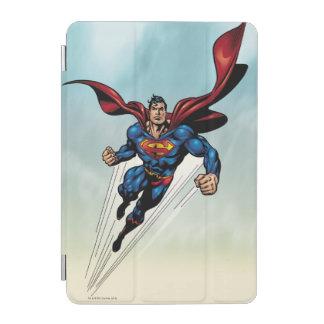Superman leaps upward iPad mini cover
