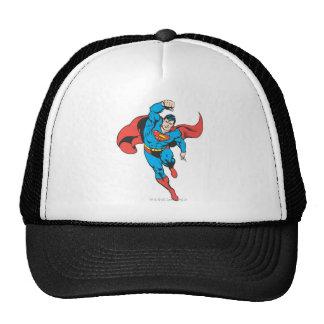 Superman Left Fist Raised Cap