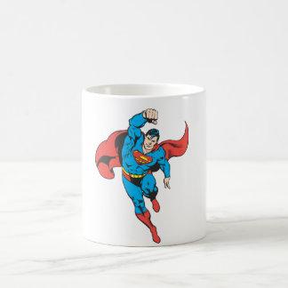 Superman Left Fist Raised Coffee Mug