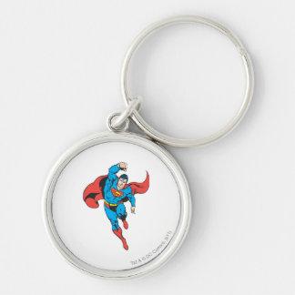 Superman Left Fist Raised Key Ring