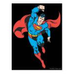 Superman Left Fist Raised Postcard